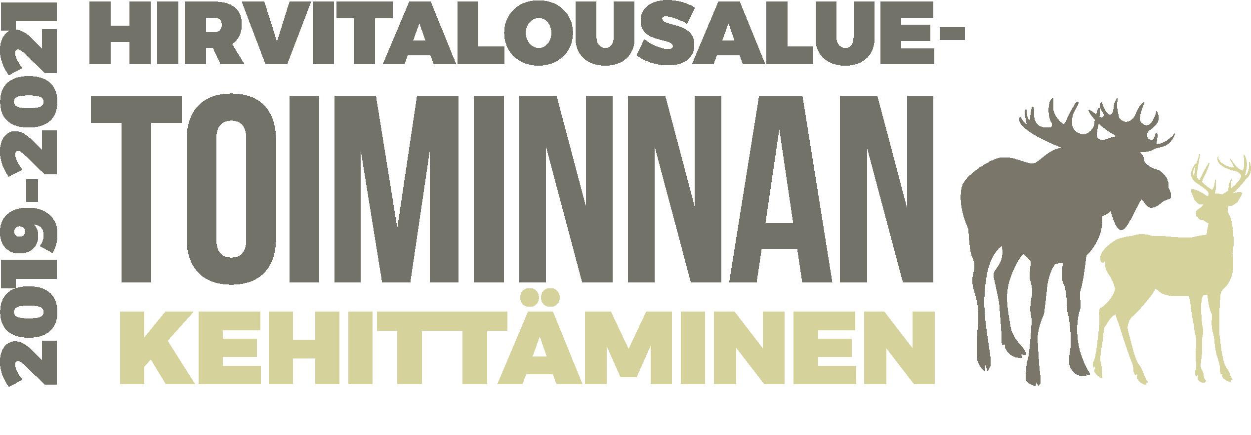 Utvecklande av älgförvaltningsområdenas verksamhet, logo