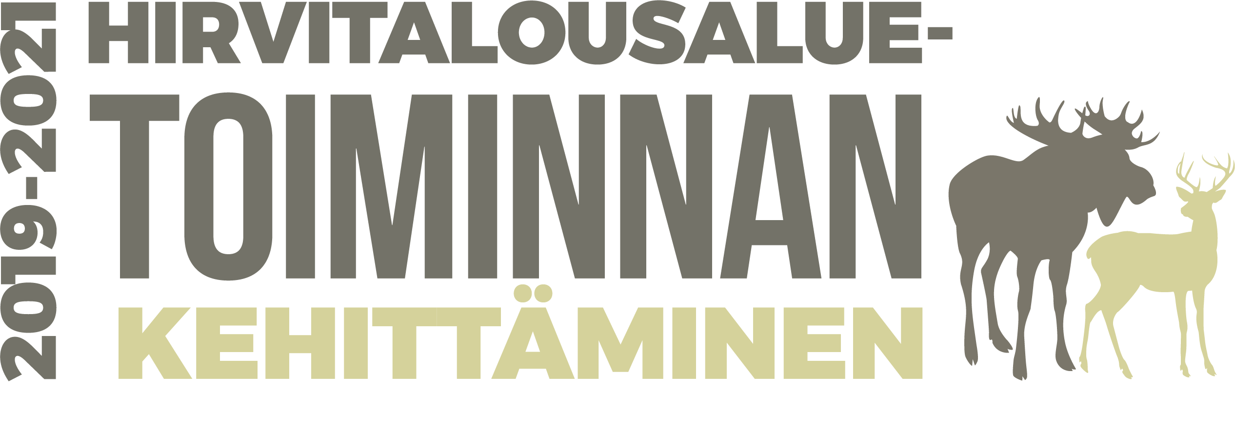 Hirvitalousaluetoiminnan kehittäminen -hankkeen logo
