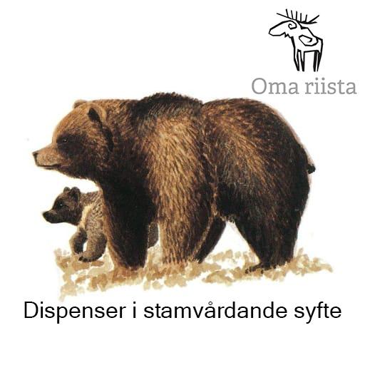 Björn och Oma riista -logo