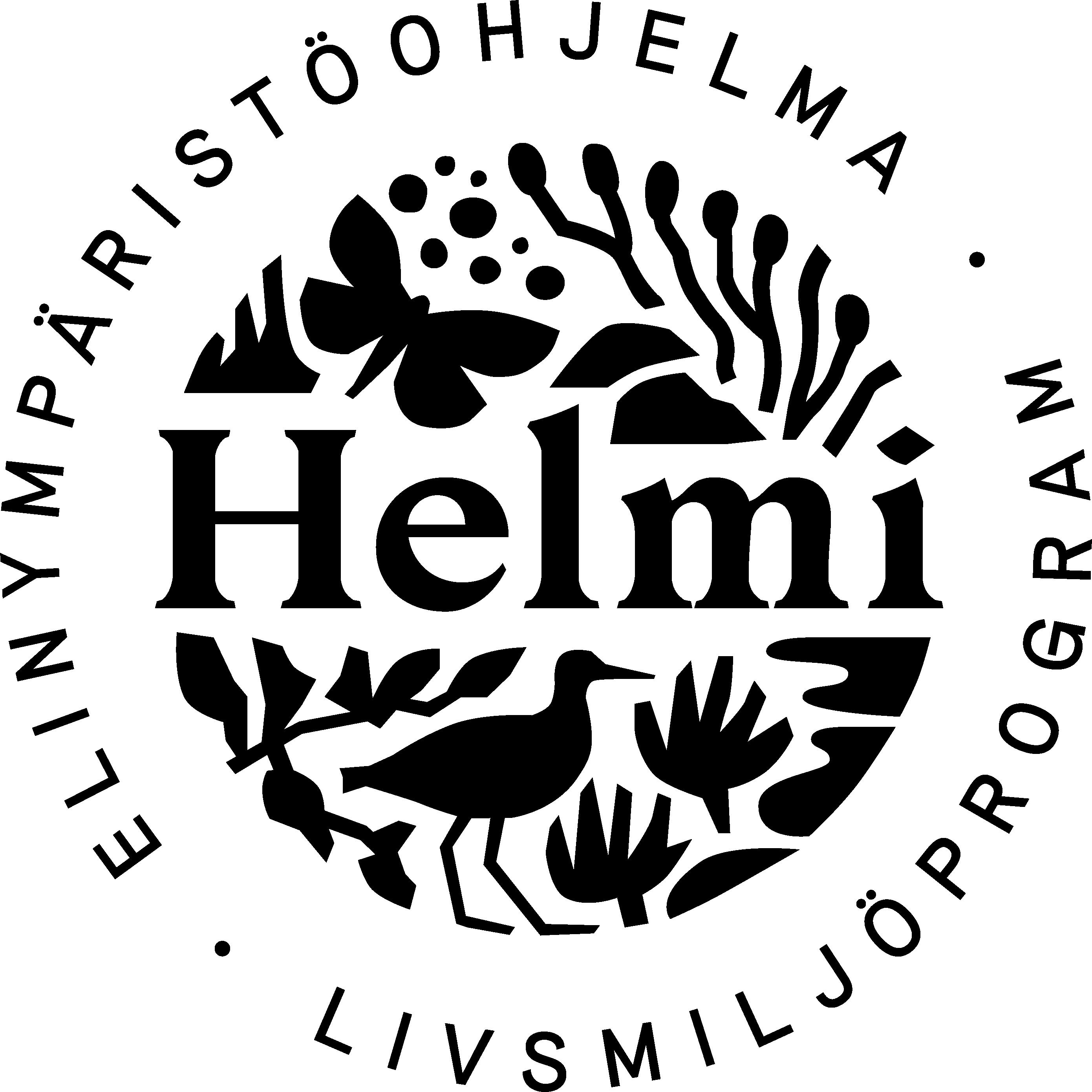 Helmi-ohjelman logo
